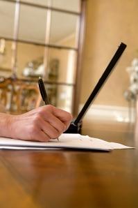 writing, hand